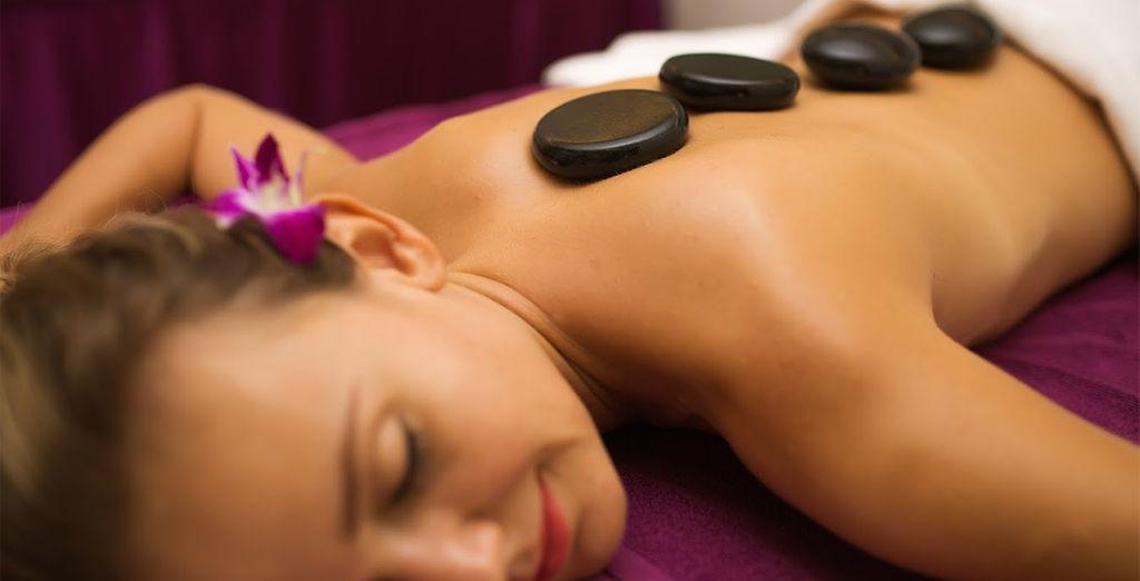 Lots of indulgent spa treatments...
