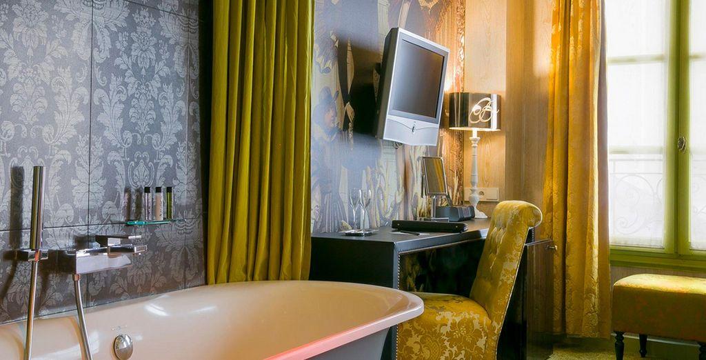 And elegantly furnished