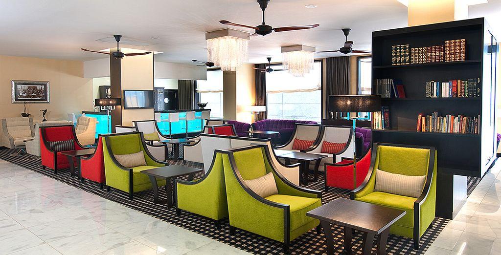 Reveals modern interior design inside