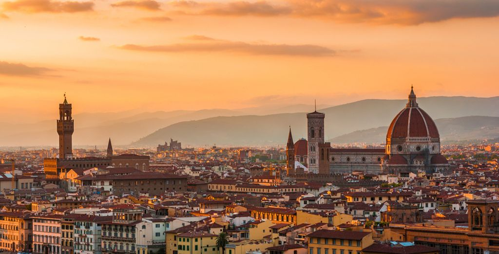 Or head to nearby Florence, Pisa or Lucca