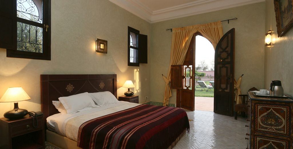 Opt for a Standard room or a Two Bedroom Villa [pictured]