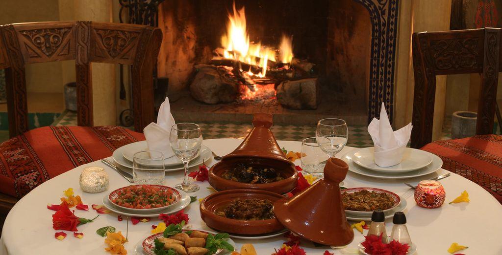 Sample delicious Moroccan cuisine