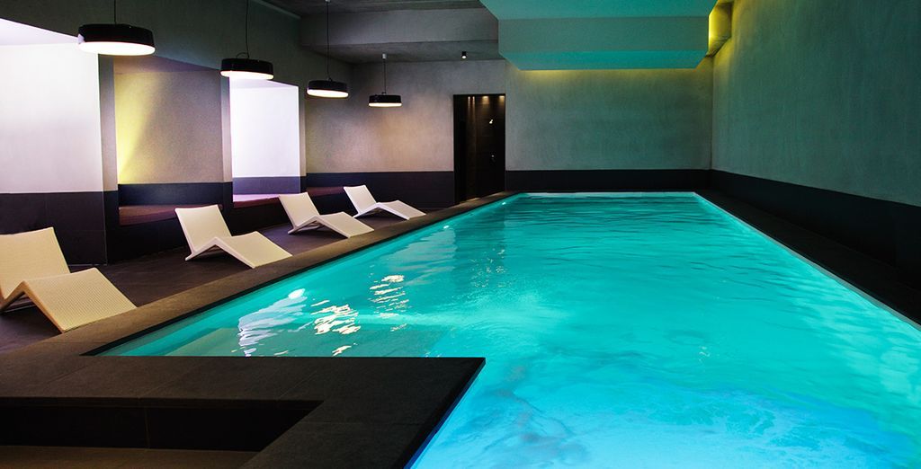 And take a dip in the reviving pool