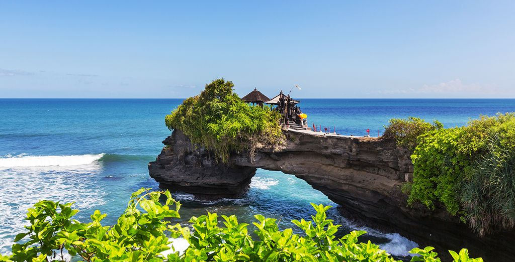 In beautiful Bali- the 'island of the gods'