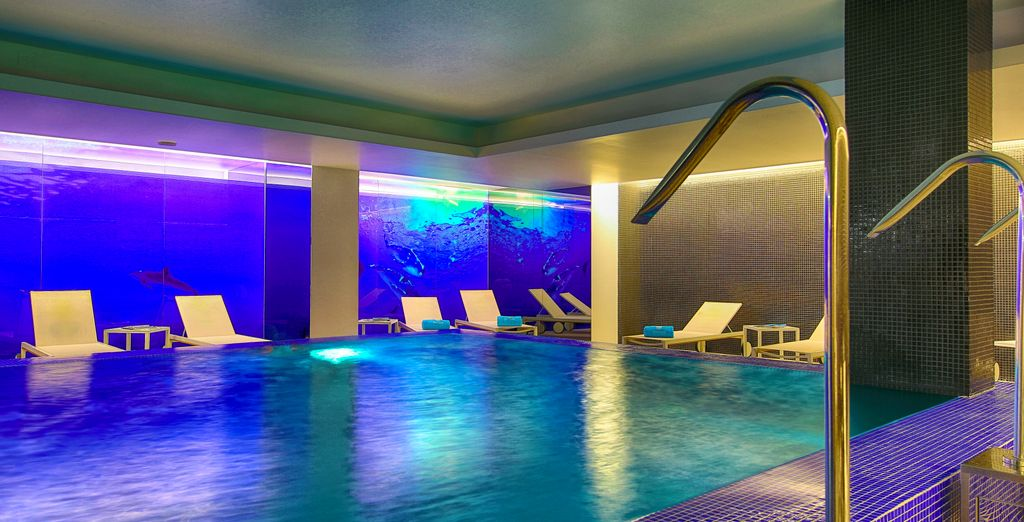 Head to the hotel's spa to relax after sightseeing
