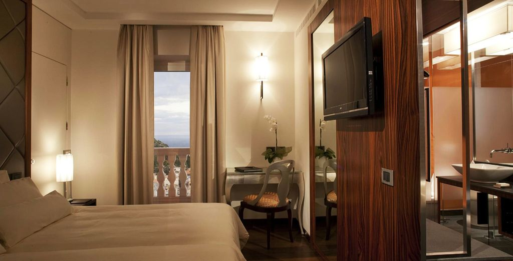 Where you can enjoy a Superior Room with a View