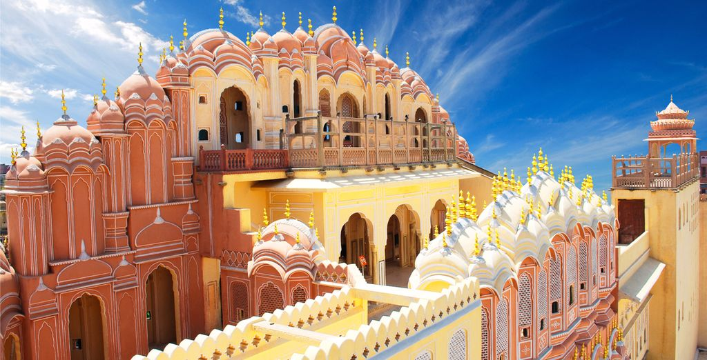 Discover Hawa Mahal, known as The Palace of Winds