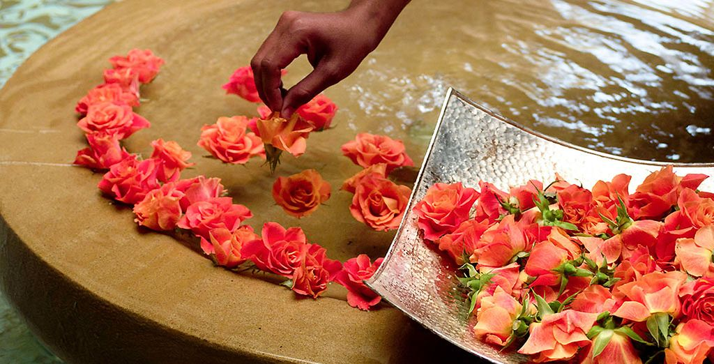 Get pampered at the Spa ...