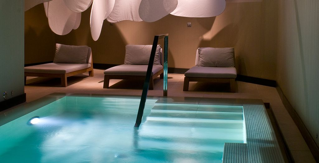 Then spend you days luxuriating at the spa