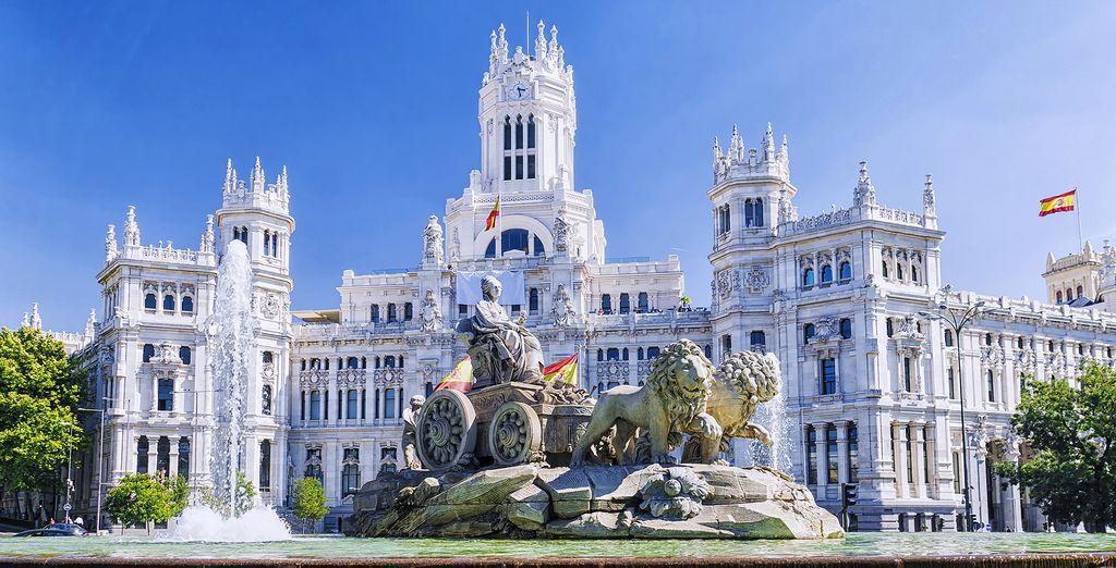 In the beautiful Spanish capital