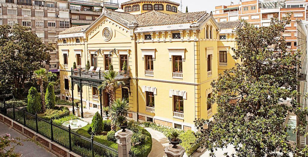 A fantastic holiday awaits at the 5* Hospes Palacio De Los Patos