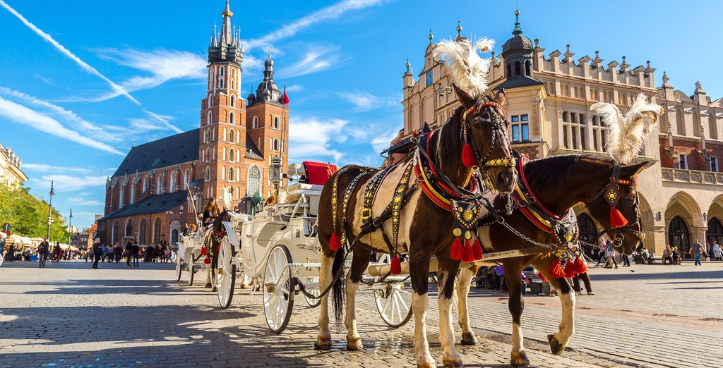Head to the cultural capital of Poland!