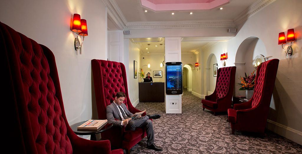 With a stay at Bloomsbury Park Hotel