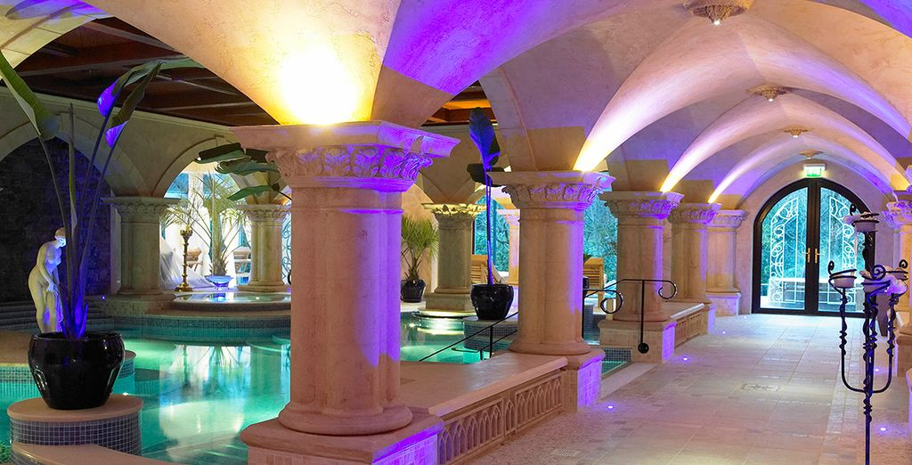 Explore this heavenly spa underworld...