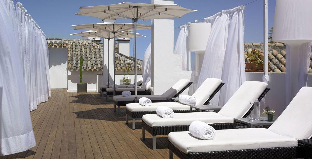 Enjoy fantastic spa treatments