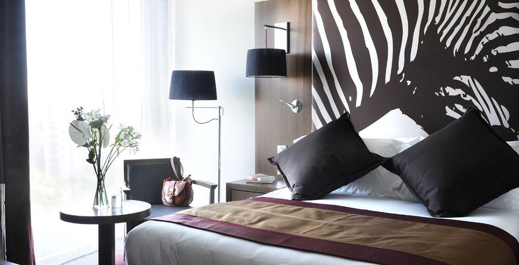 Travel around the world from the comfort of your Superior Room