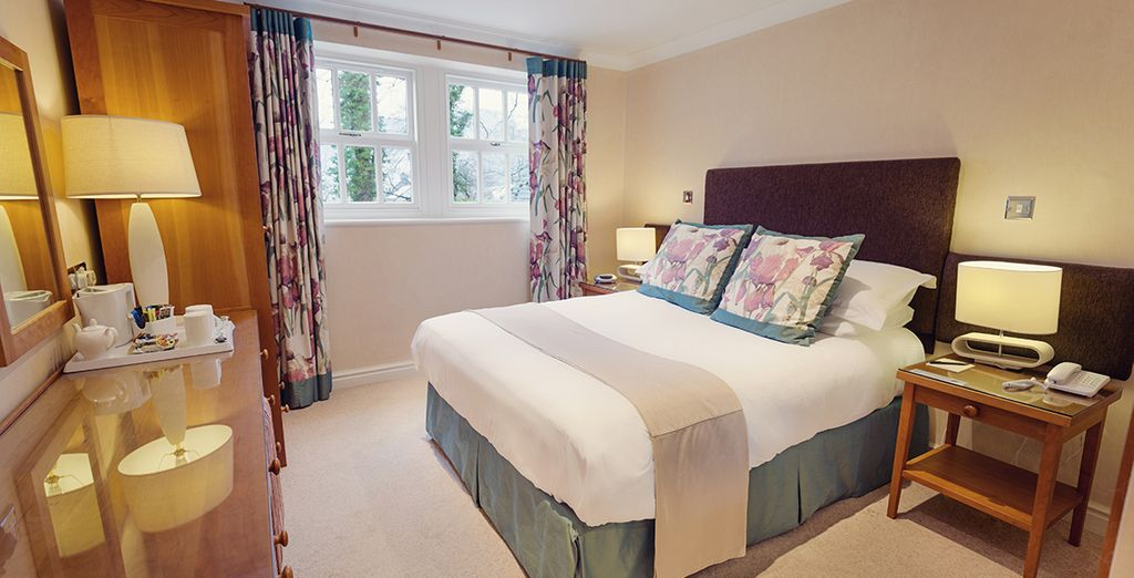 Our members will have a choice of rooms