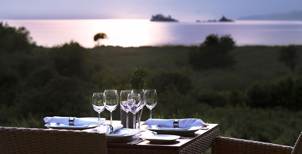 Enjoy delicious fresh cuisine in an exceptional setting