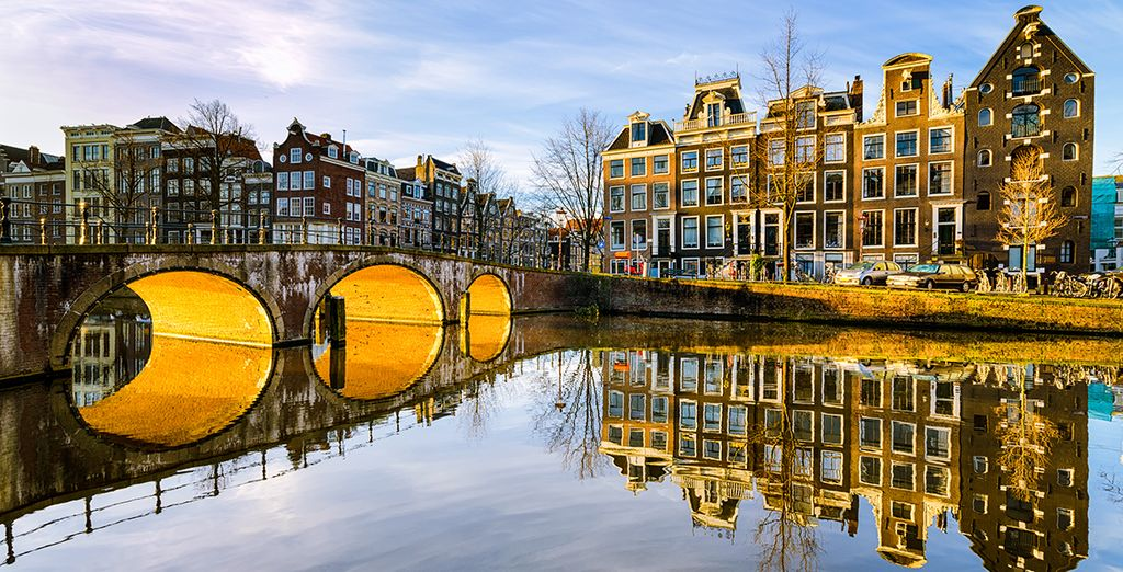 In charming Amsterdam