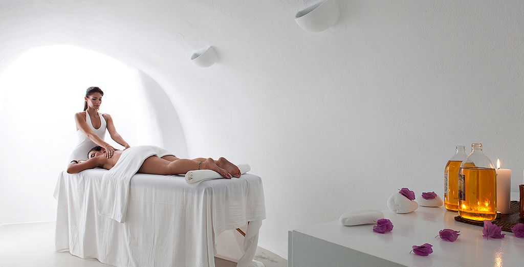 Stay 7 days and you can enjoy an indulgent spa package