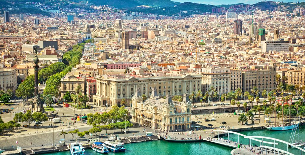 And don't forget that the marvellous city of Barcelona is on your doorstep