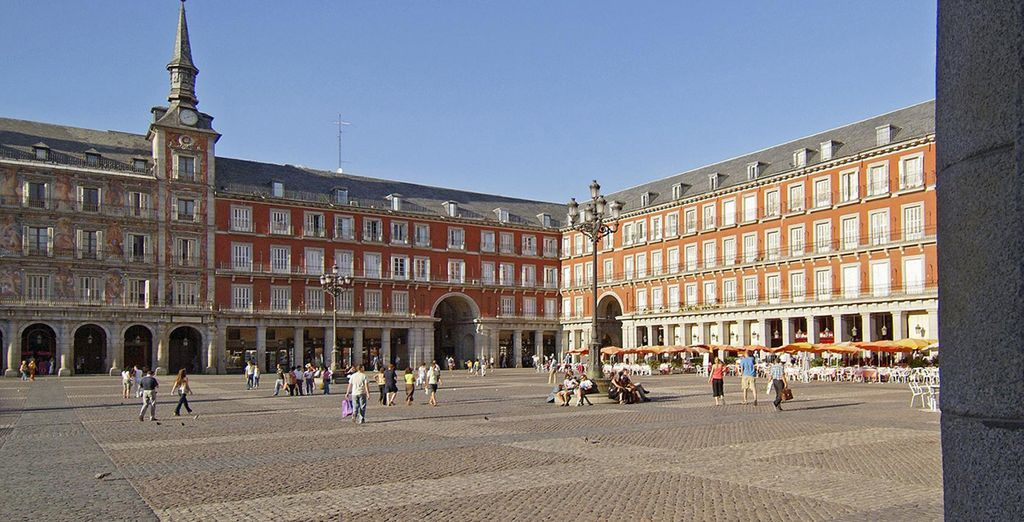 Then head out to explore Madrid...