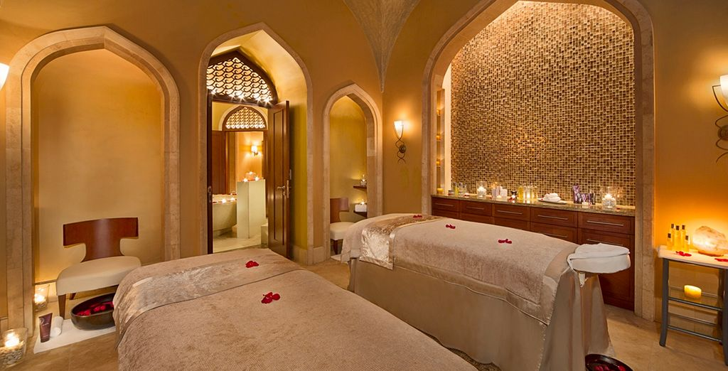 Head to the ShuiQi Spa for total relaxation...