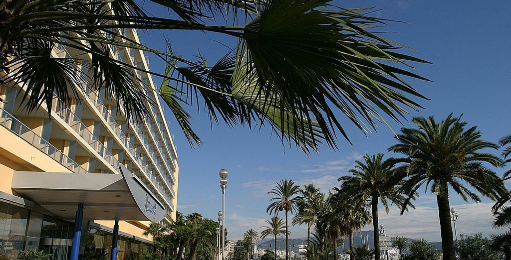 Staying in the heart of Nice...