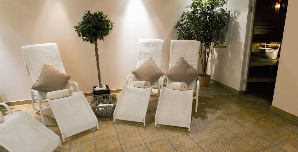 Or treat yourself to an indulgent spa treatment