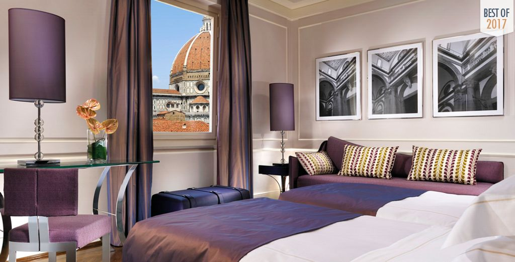 Treat yourself to magical views of Florence