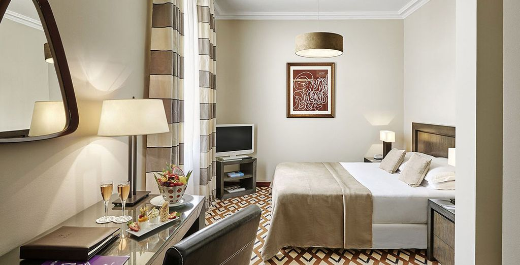 Take your pick between a lovely Classic Room