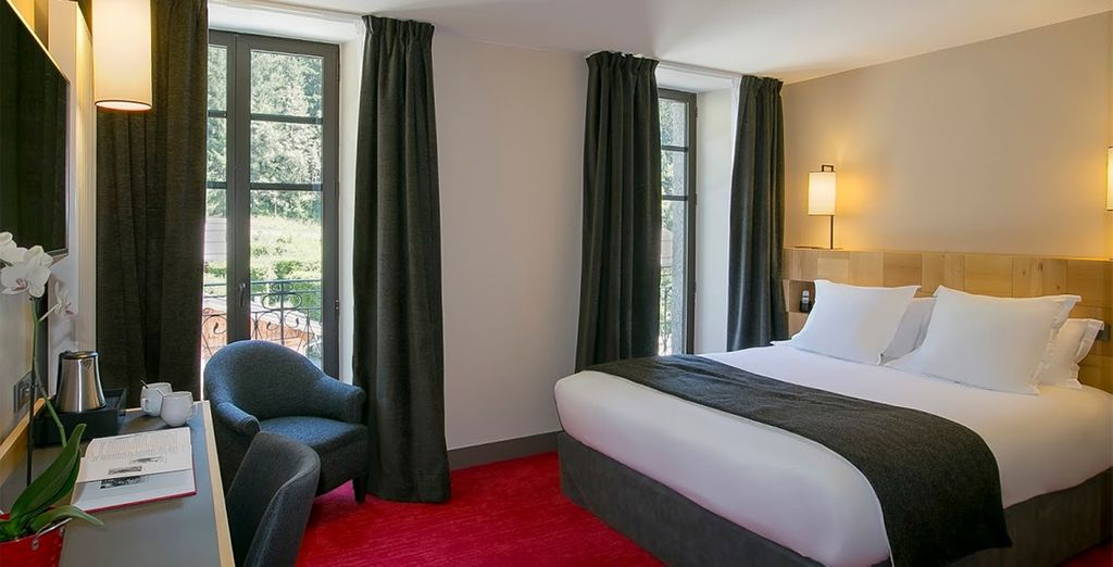 Stay in a Classic Double Room