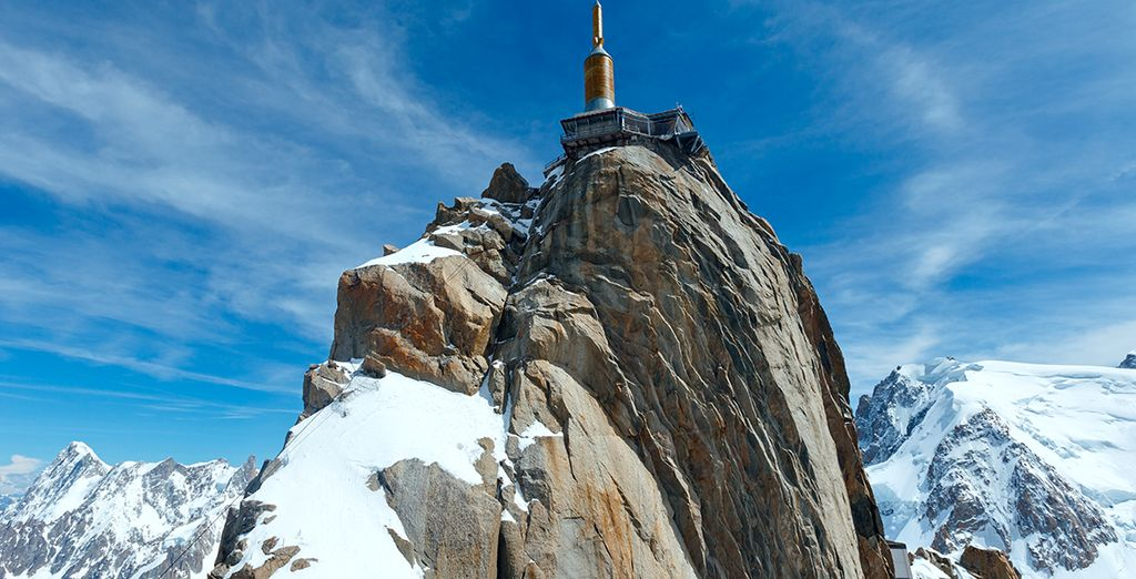 Don't miss the chance to visit the Aiguille du Midi