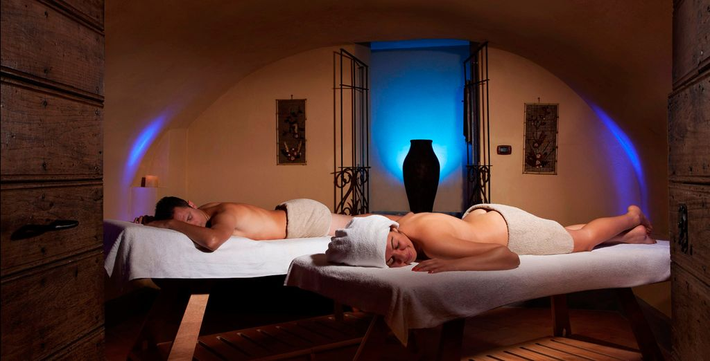 Let yourself be pampered at the spa