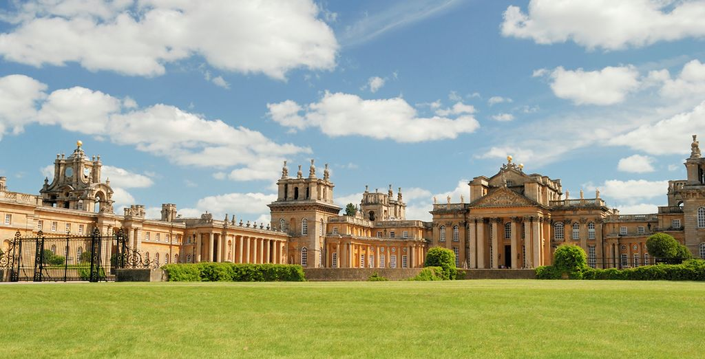 Just moments from Blenheim Palace