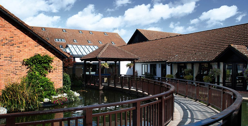 Head to Champneys Springs in Leicestershire