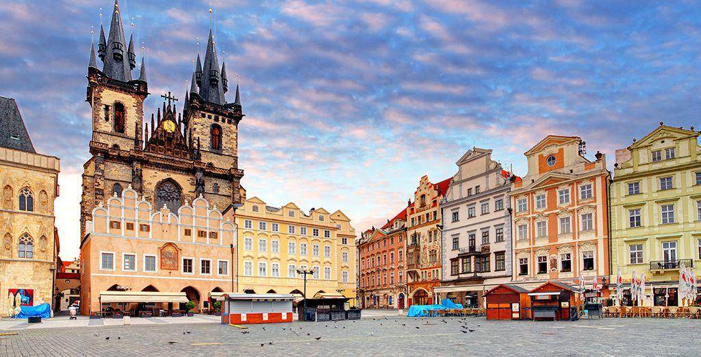 Discover Prague's beautiful architecture
