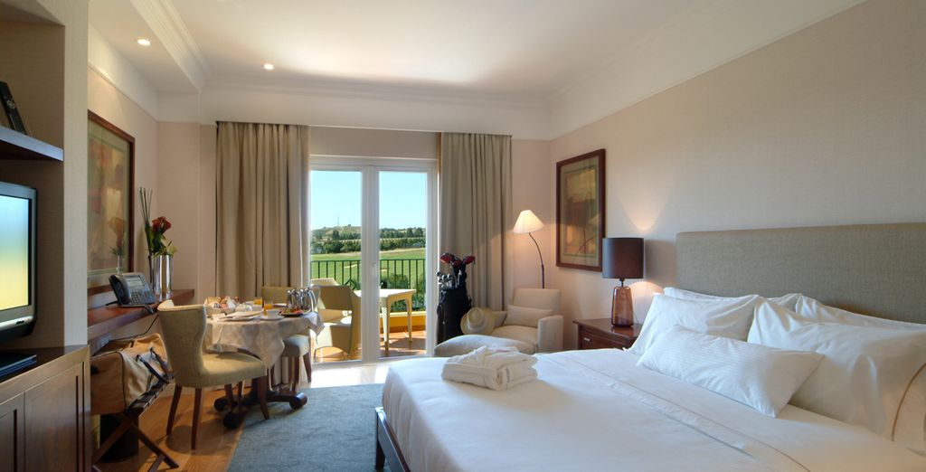 You'll be upgraded to a Superior Deluxe Room