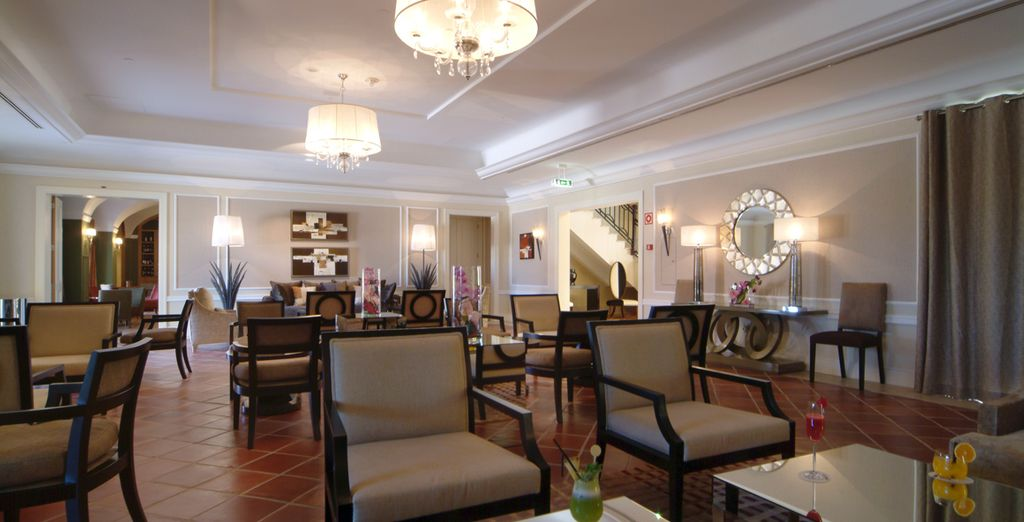 Enjoy the tranquil atmosphere of the lounge