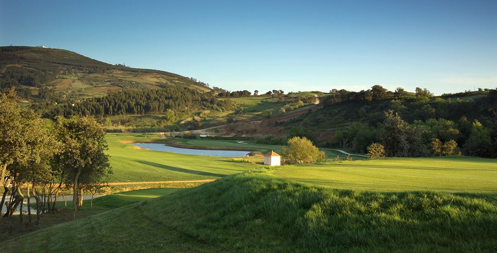 Play a round of golf on the hotel's course