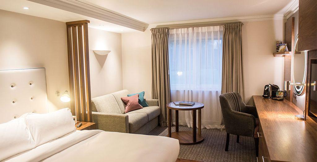 Relax in your room in Aztec Hotel 4*