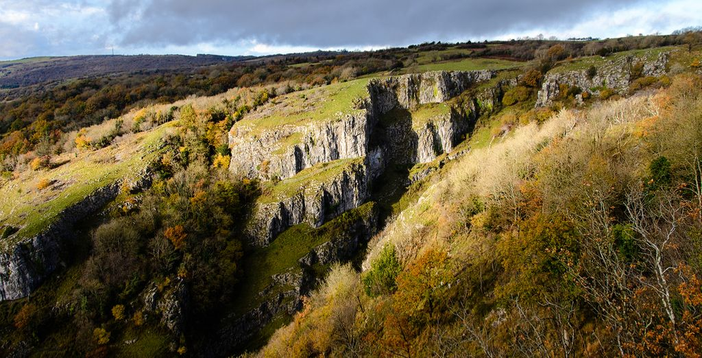 Where you will find the breathtaking Cheddar Gorge!