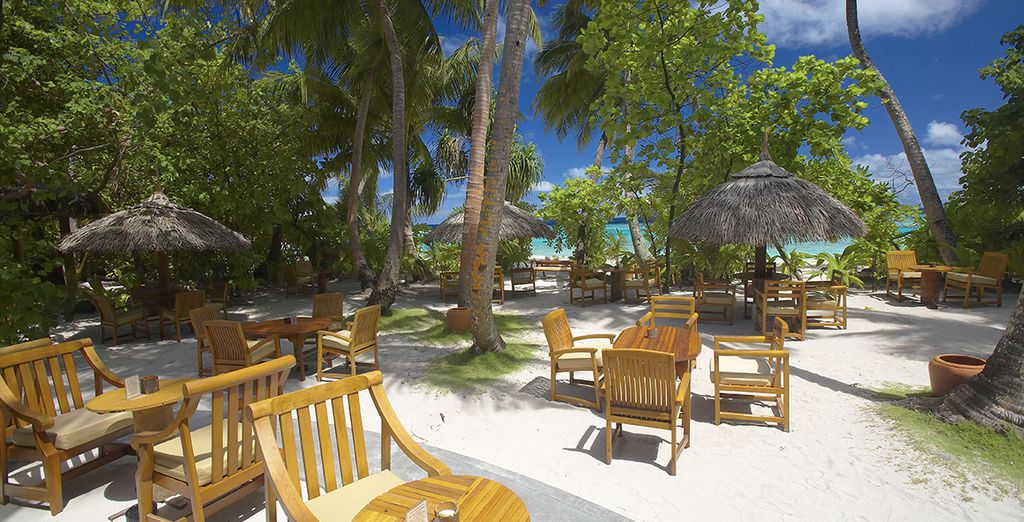 Natural beauty surrounds you at the Filitheyo Island Resort