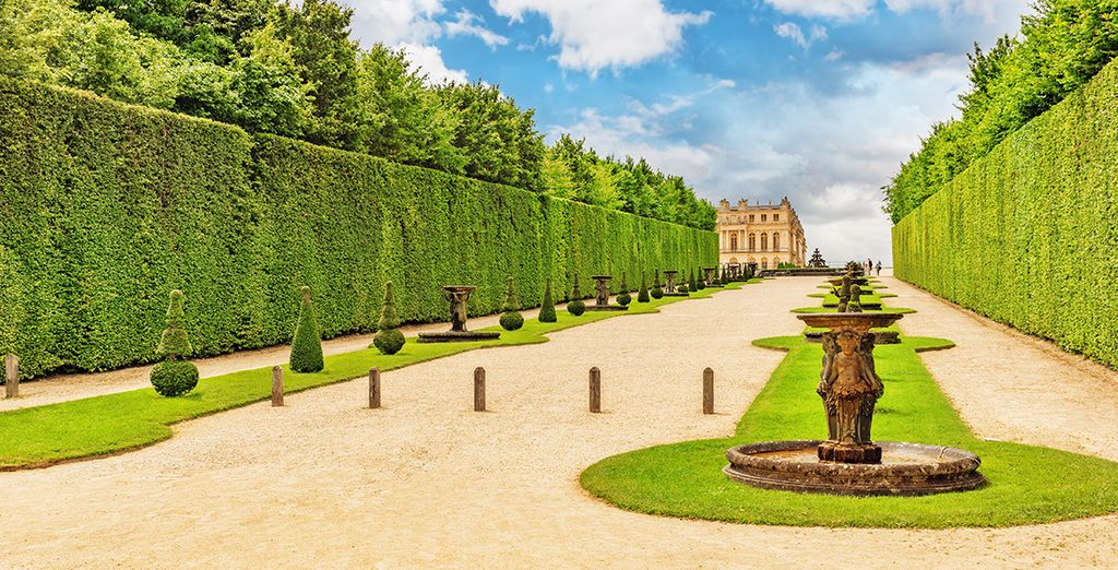 Just a short walk from the amazing Versailles Palace
