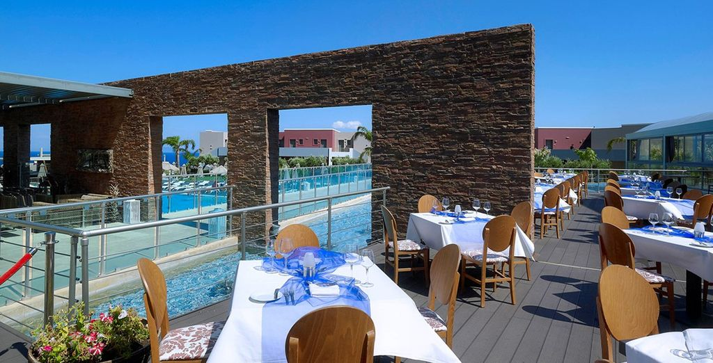Experience some truly delicious food in one of the restaurants
