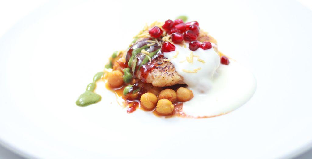 or enjoy Indian cuisine at Veda