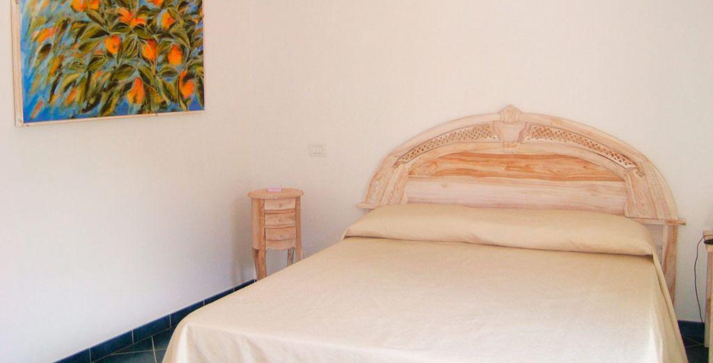 Sleep in a Double Room with balcony