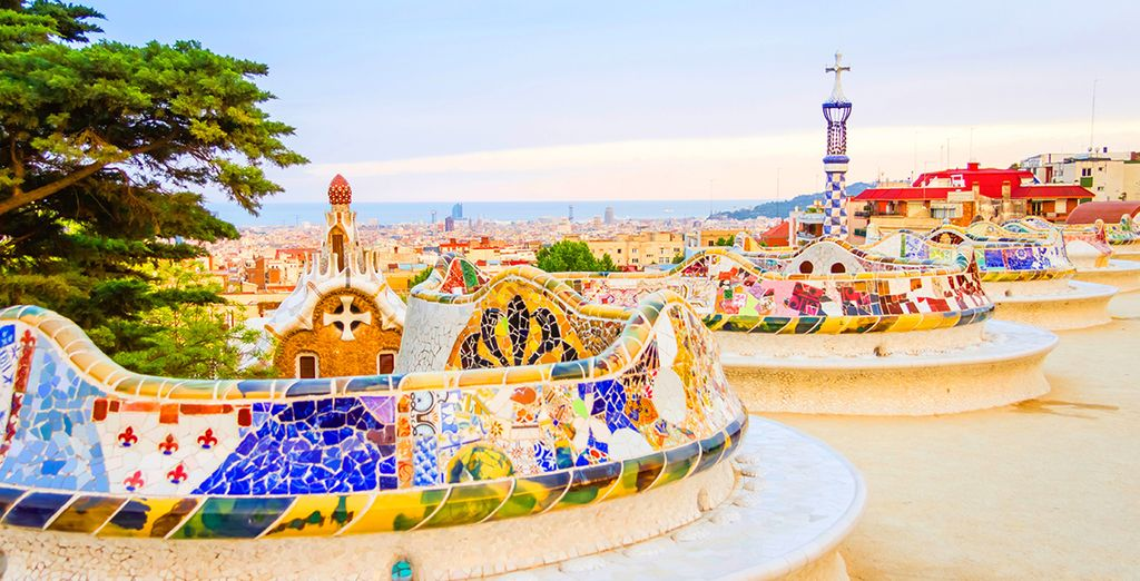 Then head out and explore Barcelona!