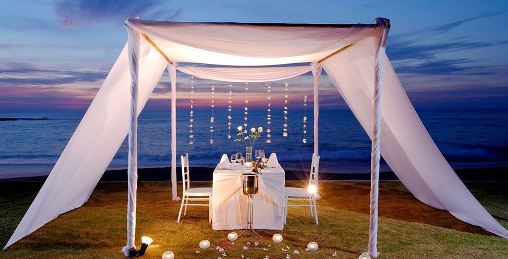 Or indulge in a romantic night on the beach