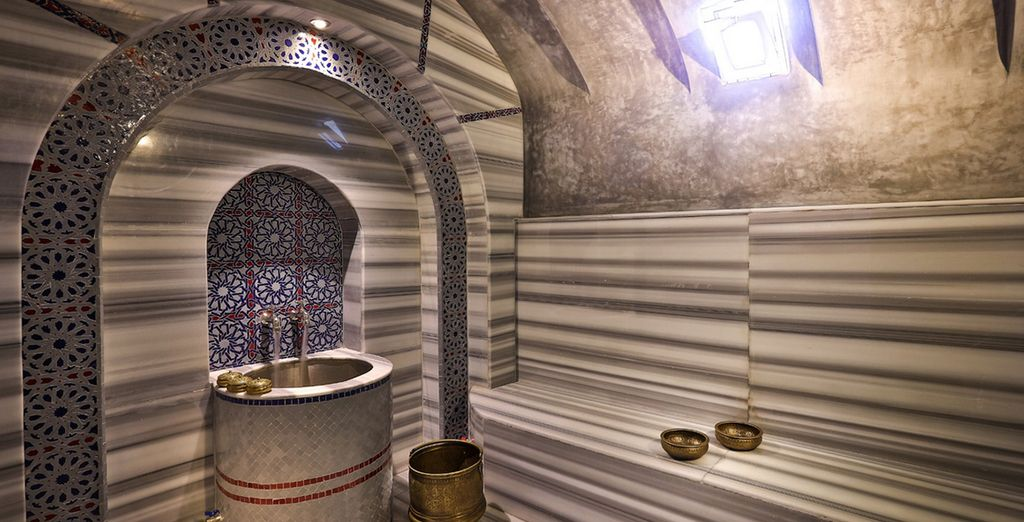 Relax with a hammam session